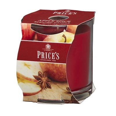 Apple Spice Candle in Glass Jar by Price's